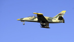 مقاتلة تابعة لسلاح الجو الليبي