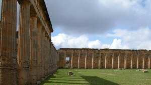 مدينة سيرين الأثرية بليبيا أسس في 630 قبل الميلاد