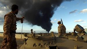 قوات حفتر وحرس الوفاق يهددان بمعركة بينهما بسبب النفط