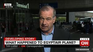 """تيم ليستر يحلل لـCNN: ما هي الأربع مجالات للتحقيق في حادثة سقوط طائرة """"MS804"""" الأكثر أرجحية؟"""