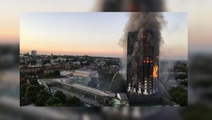 لندن: 6 قتلى بحريق هائل التهم برجاً سكنياً غربي المدينة
