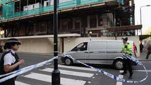 انهيار بناية قرب السفارة الأمريكية بوسط لندن وأنباء عن ضحايا