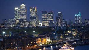 صورة للمقاطعة المالية في لندن بكناري وورف