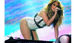 جينيفير لوبيز في عرضها بحفل موازين الغنائي، الجمعة