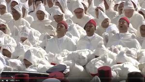 شاهد.. وفود تُقدم الولاء للعاهل المغربي في حفل تجديد البيعة