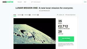 صفحة المشروع عبر موقع التمويل الجماعي Kickstarter