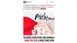 كيف ردت مادونا على تسريب مزيج من أغاني ألبومها الجديد؟