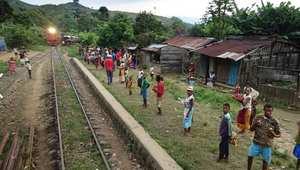 النقل بالقطار