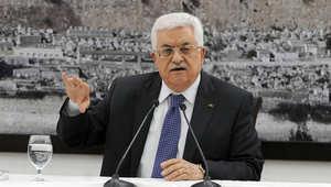 رئيس السلطة الوطنية الفلسطينية محمود عباس