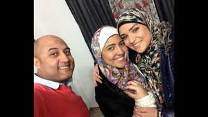 الصورة التي نشرتها مي كساب وهي ترتدي الحجاب