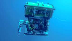 CNN تجرب مركبة  تبحث عن الطائرة الماليزية تحت الماء