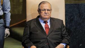 الرئيس العراقي جلال طلباني