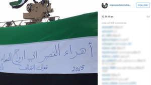 """بالصور.. نجل حاكم دبي ينشر لقطات خلال مشاركته قوات التحالف في اليمن وتحرير """"عرش بلقيس"""""""