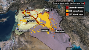محللون لـCNN: لن نوقف داعش دون حل سياسي بالعراق وسوريا.. والسنة بين حزب البعث والتنظيم
