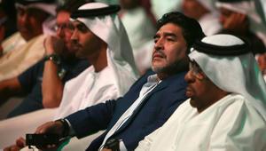 مارادونا يشيد بالإمارات ويدعمها امام أستراليا