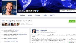 مؤسس فيسبوك مارك زوكربيرغ يخاطب المسلمين بعد رسالة ترامب: كيهودي علمتني أسرتي الدفاع عن الآخرين