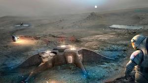 طابعات ثلاثية الأبعاد لبناء المباني على سطح المريخ