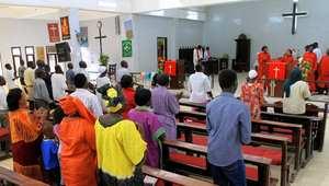 إحدى كنائس الخرطوم