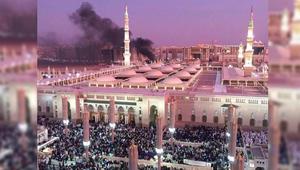 """بعد التفجير الانتحاري بالمدينة المنورة.. المتحدث باسم وزارة الخدمة المدنية ينشر صورة للمسجد النبوي: """"تقشعر لها الأبدان"""""""