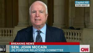 """ماكين: غارات أوباما على داعش غير كافية وعلينا تسليح الأكراد والجيش الحر.. """"البغدادي"""" هدد نيويورك"""