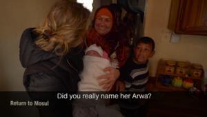 أسرة عراقية لمراسلة CNN بعد الحصار في الموصل: