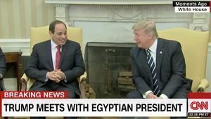 ترامب للسيسي: آمل أنك أعجبت بي أكثر