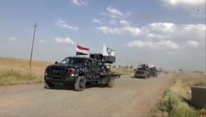 القوات العراقية تقترب من مسجد