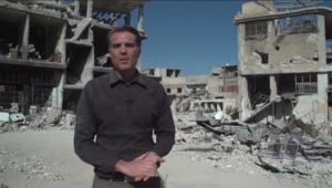 عدسة CNN داخل الغوطة الشرقية.. أو ما تبقى منها