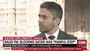 غباش لـCNN: أشك بقرصنة الروس لوكالة أنباء قطر