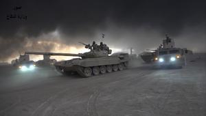 القوات العراقية تطهر الأحياء الشرقية للموصل