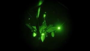 شاهد.. فيديو للضربات الفرنسية على سوريا