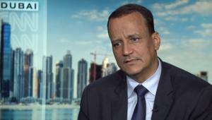ولد الشيخ لـCNN: أزمة الكوليرا في اليمن أصبحت كارثية.. وهذه ملامح الحل السياسي بالدولة