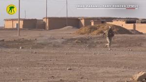 قوات العراق شبه العسكرية تزيل ألغاماً غرب الموصل
