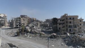 فيديو حصري لـCNN يظهر الرقة من الجو بعد دخول قوات التحالف إليها