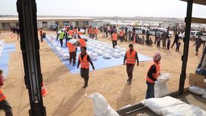 جهود دولية مكثفة لإيصال المساعدات إلى الموصل