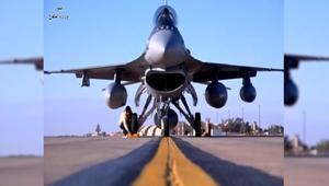 """الجيش العراقي يستلم 4 طائرات """"F 16"""" من أمريكا"""