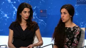 أمل كلوني دفاعاً عن أيزيدية مغتصبة: من سيحاكم داعش؟