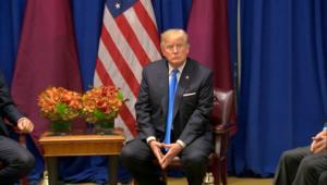 ترامب ينفي التدخل لوقف عمل عسكري تجاه قطر
