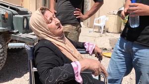 سكان غرب الموصل.. بين الرصاص والقصف والجوع والعطش