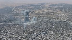 مشاهد حصرية لـCNN.. طائرة بدون طيار تلتقط الدمار الذي حل بالموصل