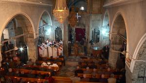 برطلة تشهد أول قداس لعيد الميلاد منذ عامين