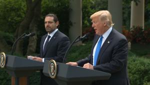 ترامب أمام الحريري: حزب الله يهدد المنطقة والأسد ارتكب فظائع