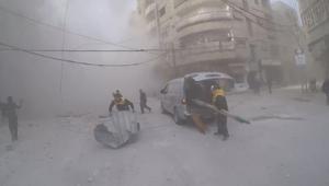 حديث عن السلام خارج سوريا.. وجوع وقنابل داخلها