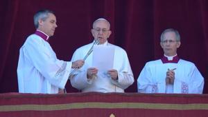 البابا يصلي لتطبيق حل الدولتين بحل النزاع الإسرائيلي-الفلسطيني