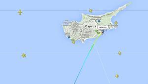 تابع على الخريطة رحلة الطائرة المصرية المخطوفة من القاهرة إلى قبرص