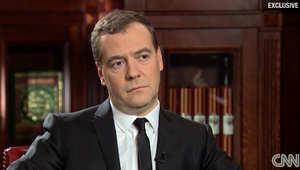 رئيس الوزراء الروسي، ديمتري مدفيدف