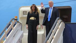 أزياء ميلانيا وايفانكا ترامب بالسعودية تشعل المغردين