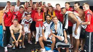 الفائز الأكبر من مباراة ألمانيا.. إنغيلا ميركل