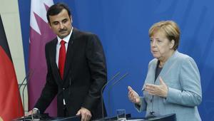 ميركل: قطر ستبذل جهدها لمكافحة الإرهاب الدولي.. وتميم: يجب التركيز على جذوره