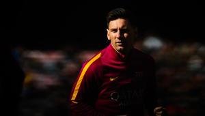 لاعب نادي برشلونة ليونيل ميسي